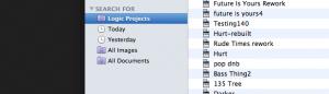 Logic Tips - smart folder