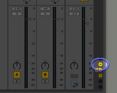 Show device slots icon