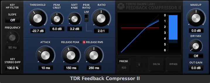 Tokyo Dawn Labs Feeback Compressor