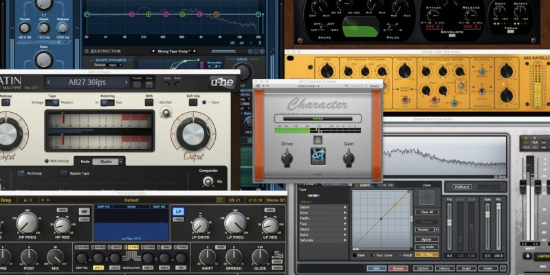 My Favourite Saturation Plugins
