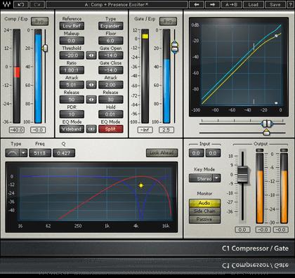 Waves C1 Compressor - Waves Audio