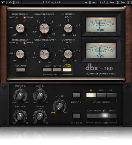 Waves DBX-160 - Waves Plugins