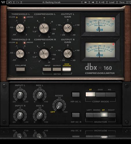 Waves DBX-160 - Waves Plugins