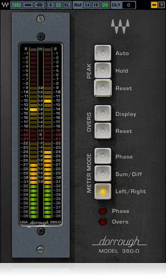 Waves Dorrough Stereo 380D - Waves Plugins