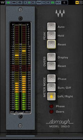 Waves Dorrough Stereo 380D - Waves Plugins