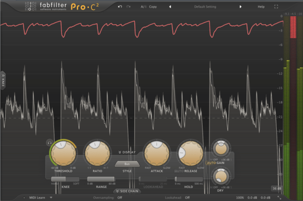 FabFilter Pro-C2 - best bus compressor plugins