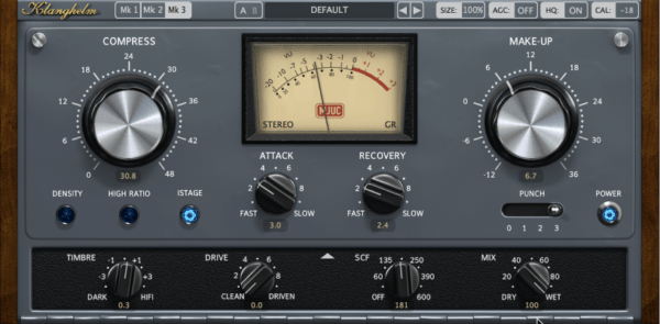 Klanghelm MJUC - best bus compressor plugins