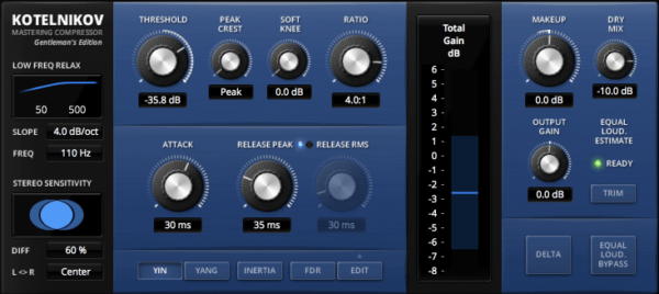 TDR Kotelnikov GE - best bus compressor plugins