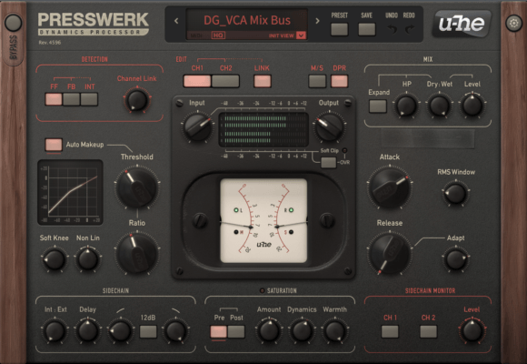U-He Presswerk - best bus compressor plugins