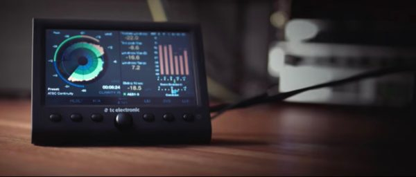 Mastering loudness meter - TC Clarity M