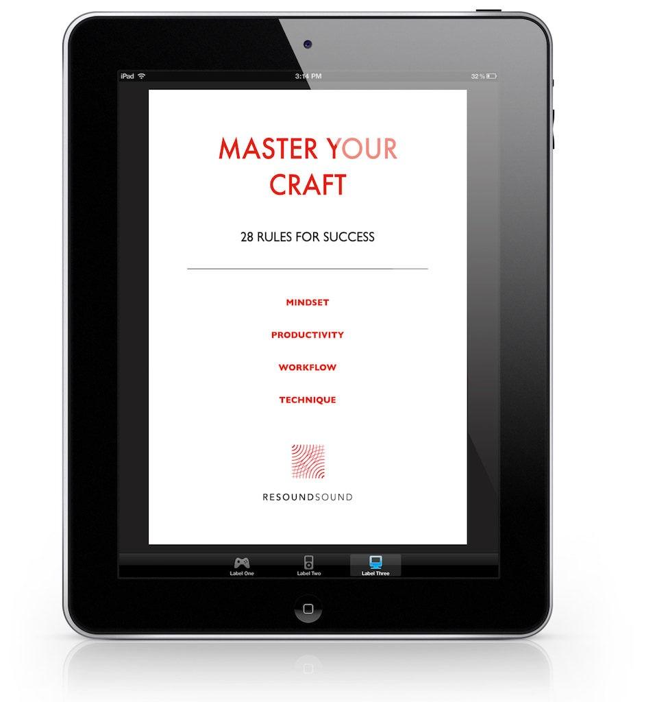 Resoundsound - Master Your Craft