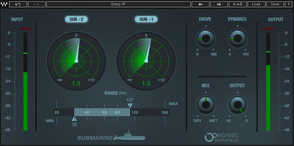 Waves Submarine