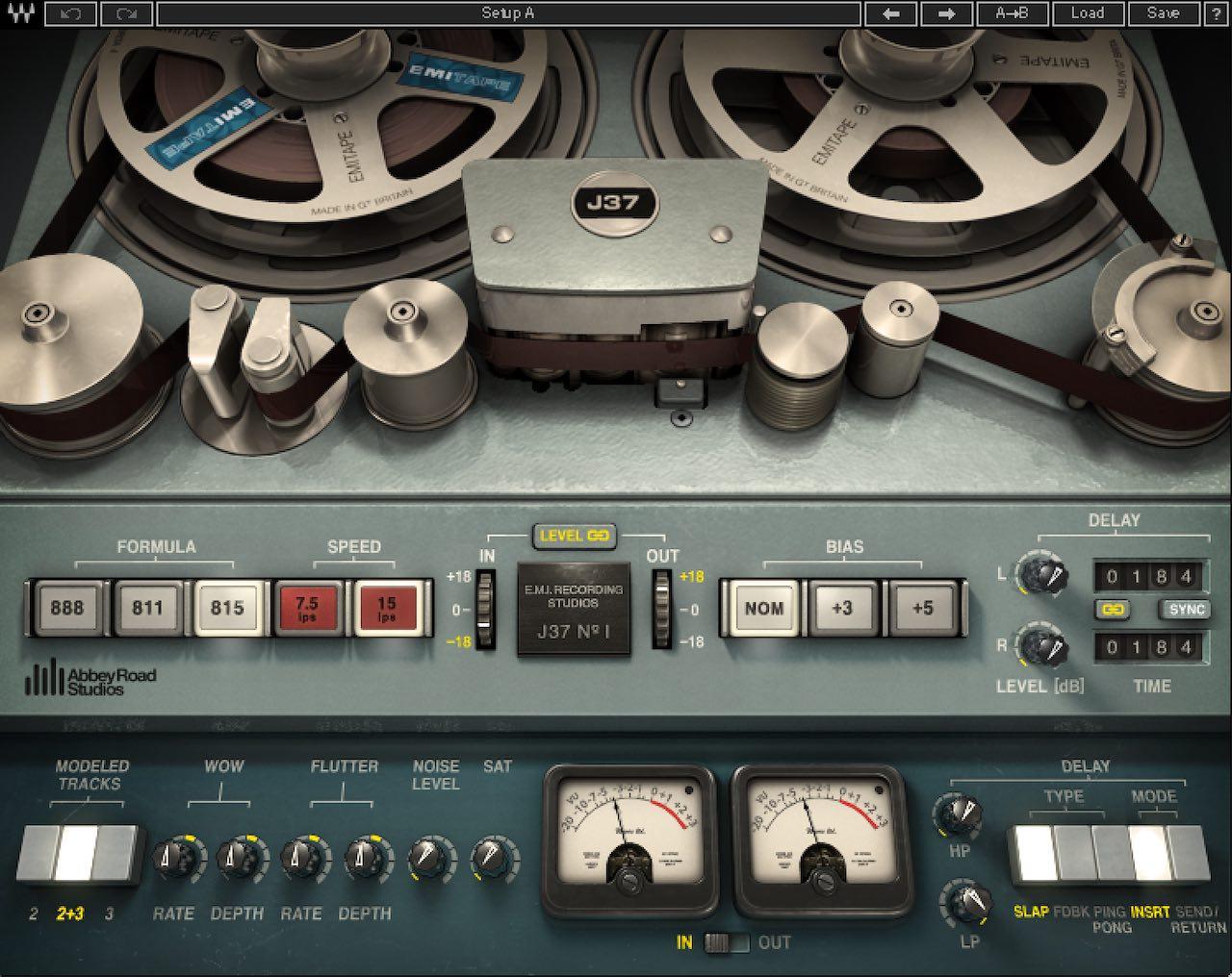 Waves Abbey Road J37 Tape Plugin