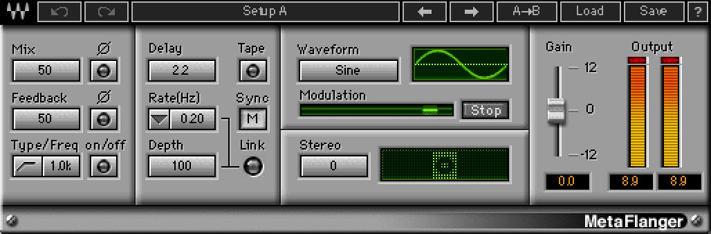 Waves Metaflanger - Best Waves Plugins
