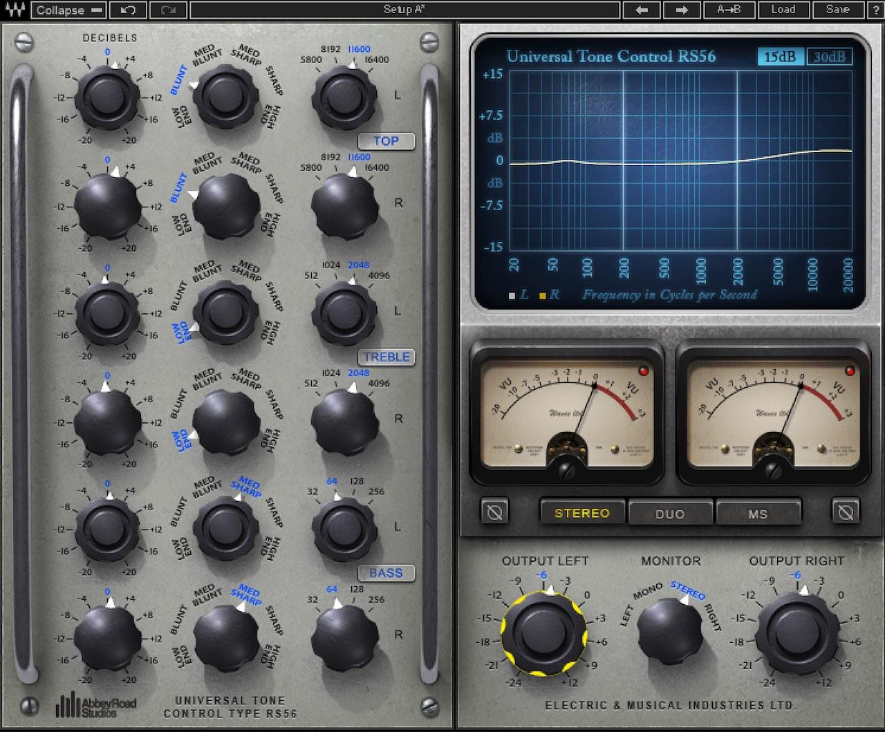 Waves RS56 Passive EQ - Waves audio