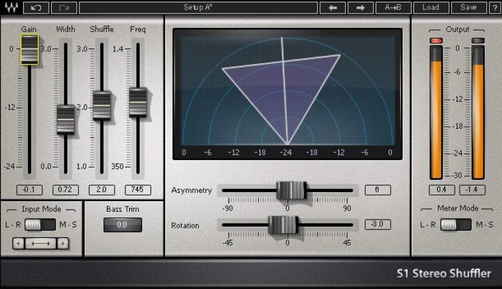 Waves S1 Stereo Imager - Mastering plugin