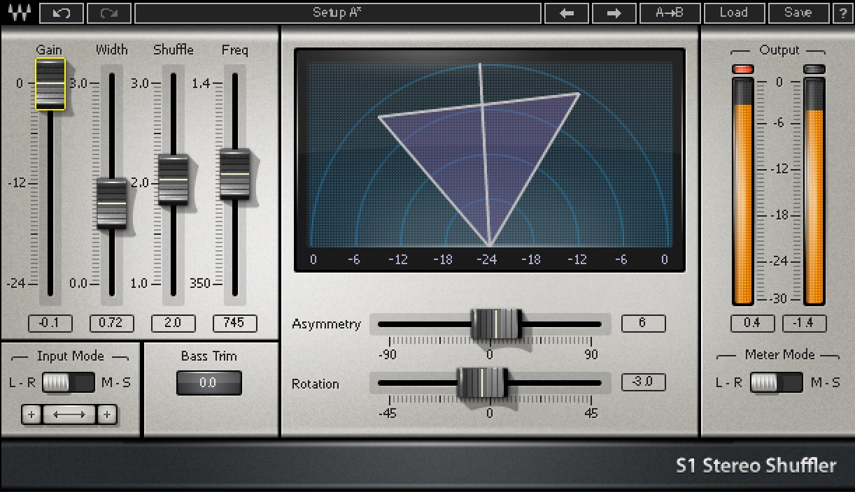 Waves S1 Stereo Imager - Best Waves Plugins