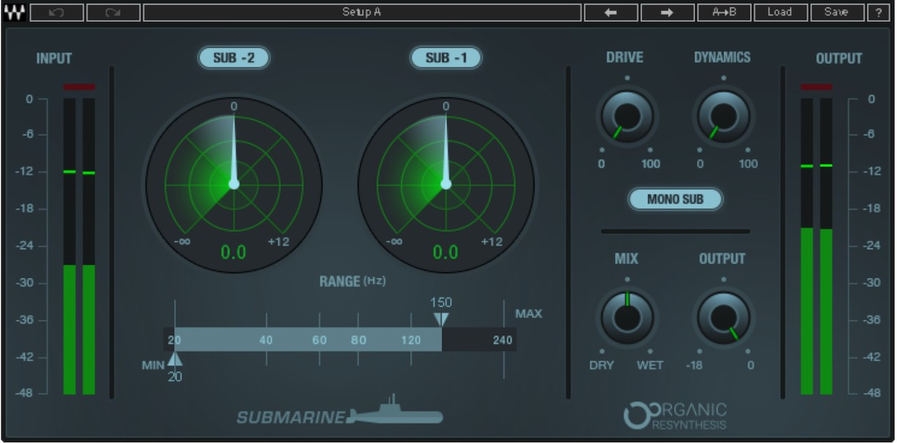 Waves Submarine - Best Waves Mastering Plugins